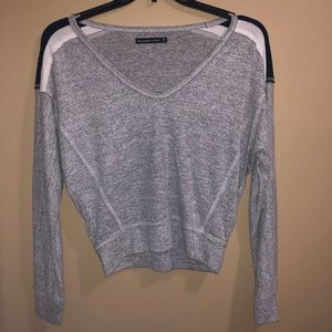 A&F grey sweater size XS